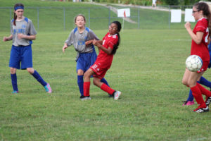 AMS Lady Redskins Soccer Commands Victory over JCMS 8-12-19 by David-9