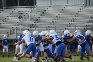 LA Football Scrimmages GHS 8-9-19 by David