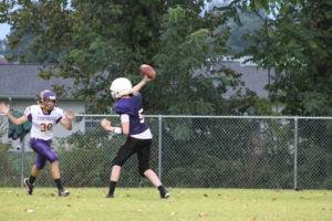 MMS Football Falls to Fentress County 8-20-19-10