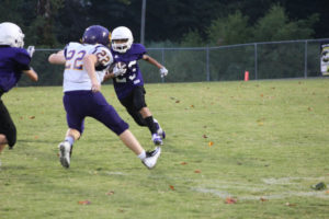 MMS Football Falls to Fentress County 8-20-19-15