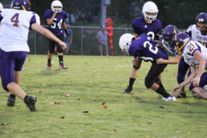 MMS Football Falls to Fentress County 8-20-19-17