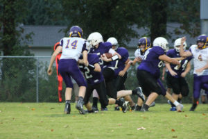 MMS Football Falls to Fentress County 8-20-19-25