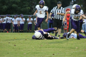 MMS Football Falls to Fentress County 8-20-19-28