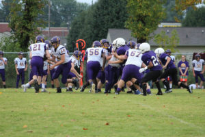 MMS Football Falls to Fentress County 8-20-19-29