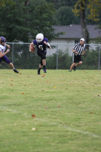 MMS Football Falls to Fentress County 8-20-19-30