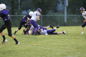 MMS Football Falls to Fentress County 8-20-19-33