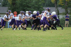 MMS Football Falls to Fentress County 8-20-19-34