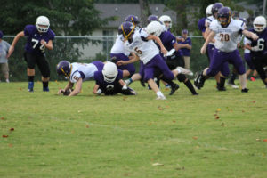 MMS Football Falls to Fentress County 8-20-19-35