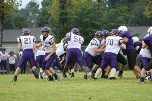 MMS Football Falls to Fentress County 8-20-19-48