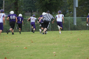 MMS Football Falls to Fentress County 8-20-19-49