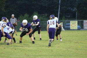 MMS Football Falls to Fentress County 8-20-19-52