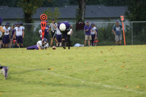 MMS Football Falls to Fentress County 8-20-19-53