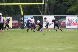 MMS Football Falls to Fentress County 8-20-19-56