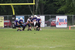 MMS Football Falls to Fentress County 8-20-19-57
