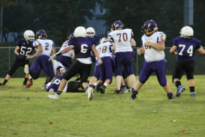 MMS Football Falls to Fentress County 8-20-19-6