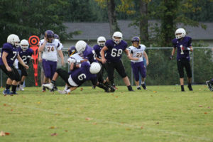 MMS Football Falls to Fentress County 8-20-19-7