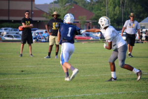 UHS FB Scrimmage vs JCHS 8-6-18 by Melissa-10
