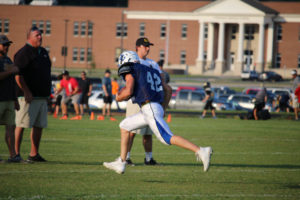 UHS FB Scrimmage vs JCHS 8-6-18 by Melissa-14