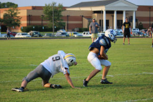 UHS FB Scrimmage vs JCHS 8-6-18 by Melissa-15