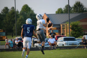 UHS FB Scrimmage vs JCHS 8-6-18 by Melissa-18