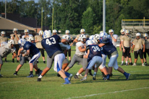 UHS FB Scrimmage vs JCHS 8-6-18 by Melissa-2