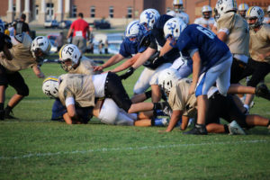 UHS FB Scrimmage vs JCHS 8-6-18 by Melissa-20
