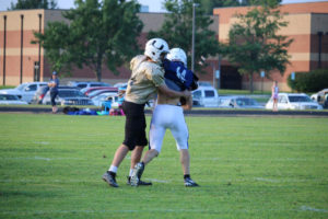 UHS FB Scrimmage vs JCHS 8-6-18 by Melissa-22