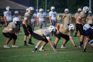 UHS FB Scrimmage vs JCHS 8-6-18 by Melissa-23