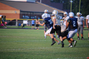 UHS FB Scrimmage vs JCHS 8-6-18 by Melissa-26