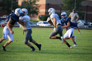 UHS FB Scrimmage vs JCHS 8-6-18 by Melissa-28