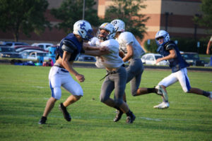 UHS FB Scrimmage vs JCHS 8-6-18 by Melissa-29