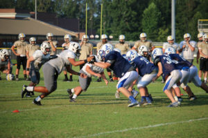 UHS FB Scrimmage vs JCHS 8-6-18 by Melissa