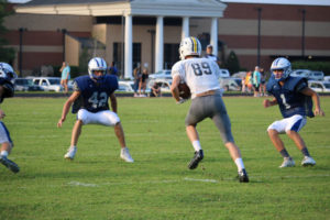 UHS FB Scrimmage vs JCHS 8-6-18 by Melissa-31
