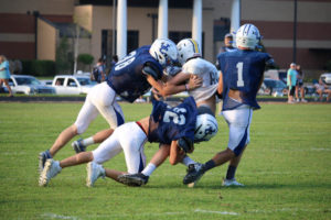 UHS FB Scrimmage vs JCHS 8-6-18 by Melissa-34