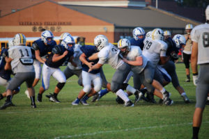 UHS FB Scrimmage vs JCHS 8-6-18 by Melissa-35