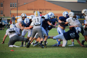 UHS FB Scrimmage vs JCHS 8-6-18 by Melissa-36