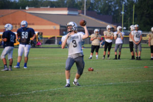 UHS FB Scrimmage vs JCHS 8-6-18 by Melissa-38