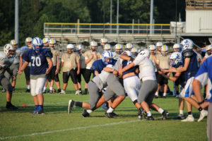 UHS FB Scrimmage vs JCHS 8-6-18 by Melissa-4