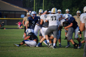 UHS FB Scrimmage vs JCHS 8-6-18 by Melissa-42