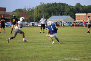 UHS FB Scrimmage vs JCHS 8-6-18 by Melissa-8