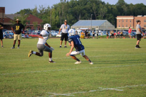 UHS FB Scrimmage vs JCHS 8-6-18 by Melissa-9