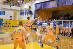 Clarkrange Basketball Vs Oneida-77