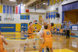 Clarkrange Basketball Vs Oneida-78